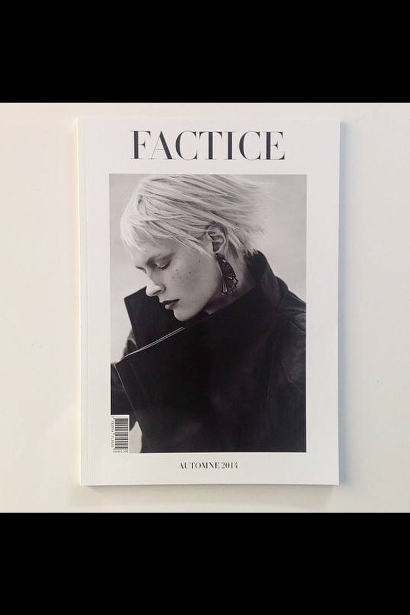 Shoot + Cover of Factice Magazine