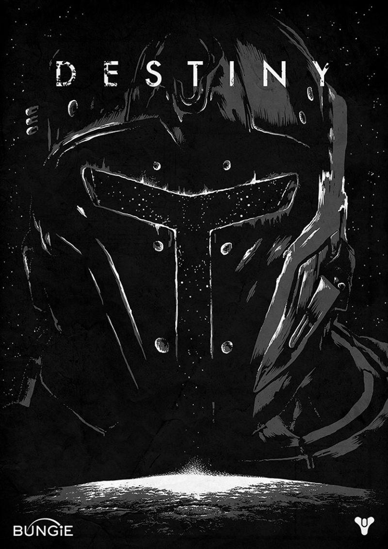Shortlist & Bungie - Destiny Poster