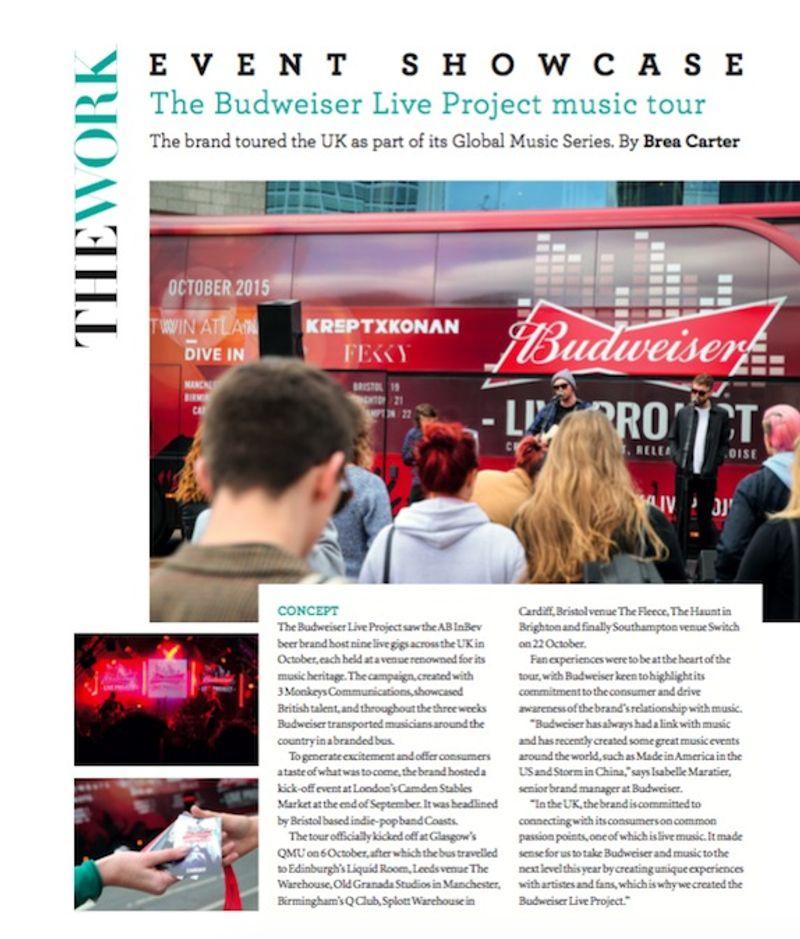 Event magazine I Event Showcase