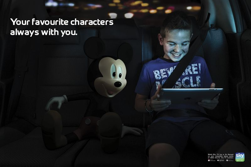 Sky Go-Your favourite characters always with you.