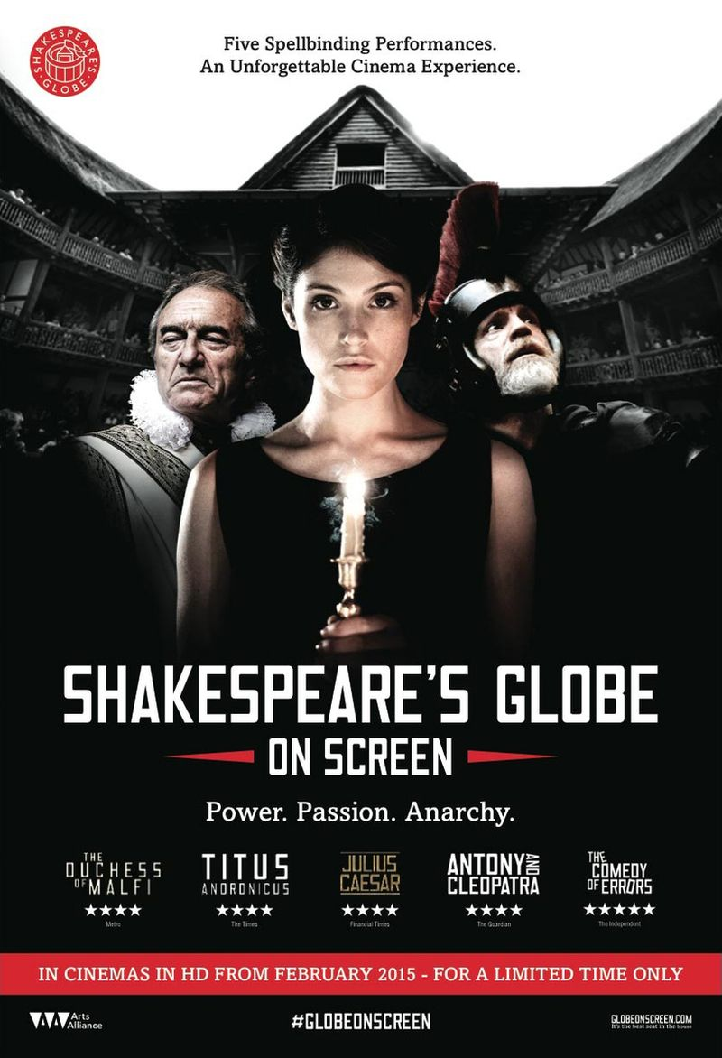 Shakespere's Globe on Screen 2015