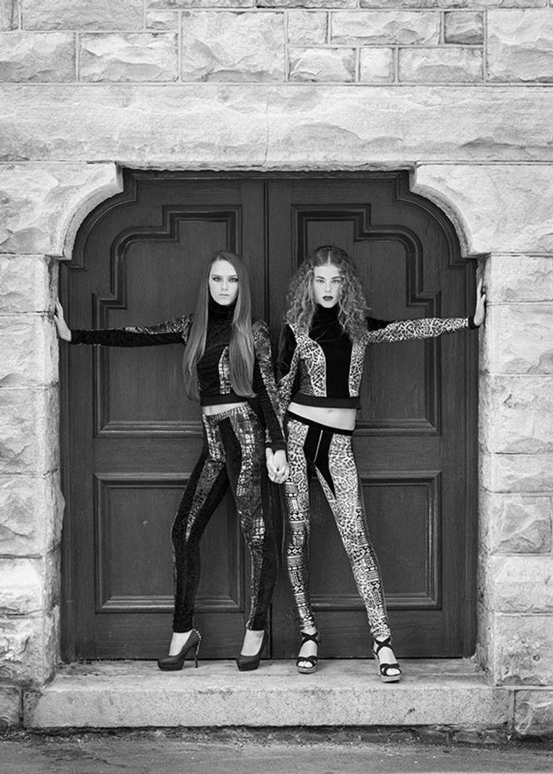 Mia and Matilde