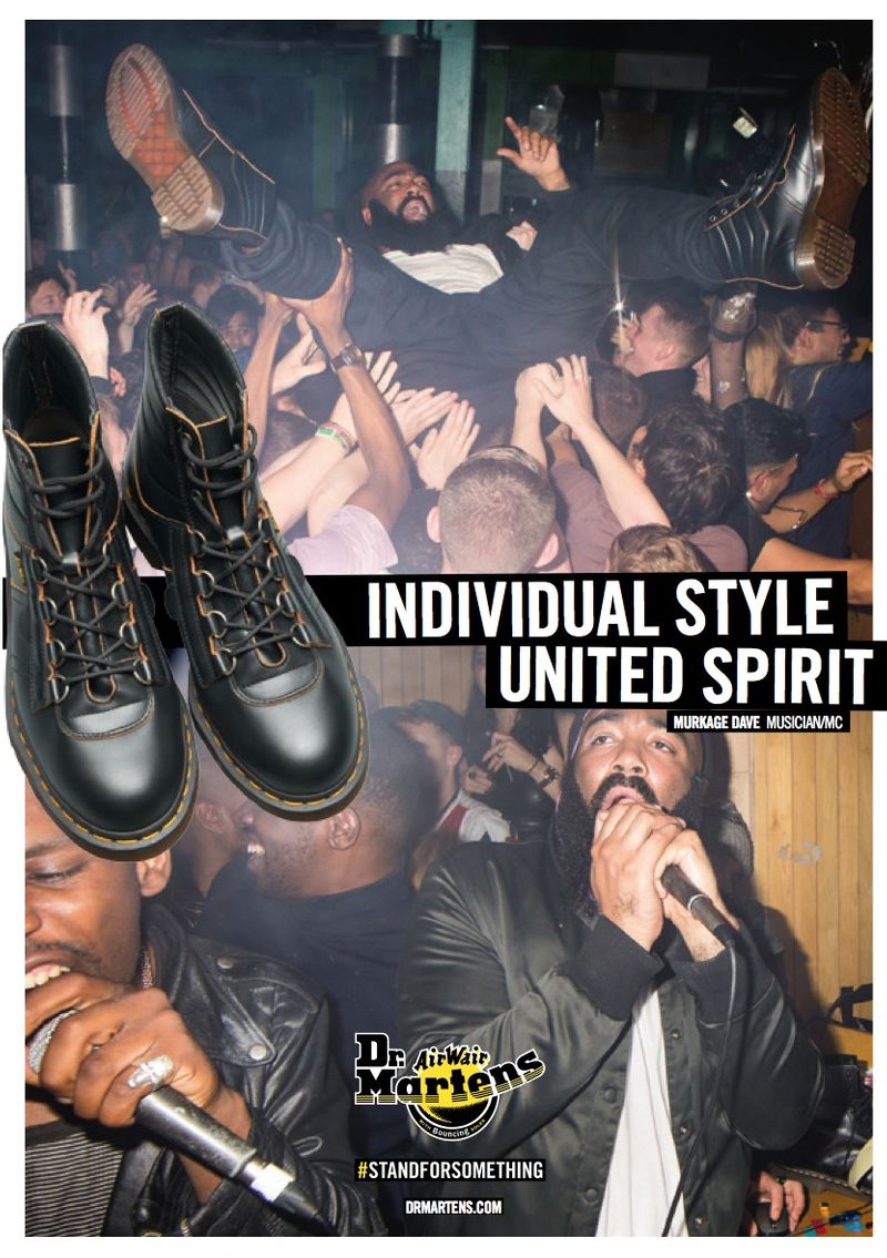 DR. MARTENS AW15 #STANDFORSOMETHING CAMPAIGN