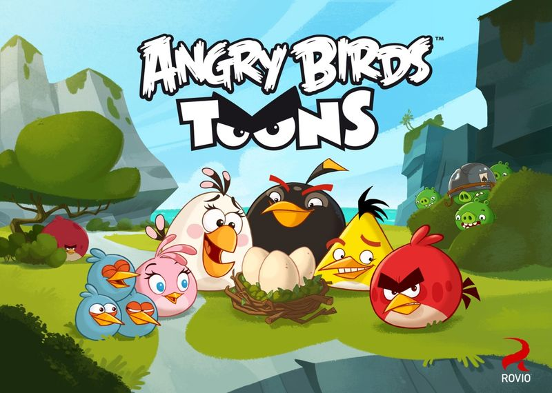 Angry Birds Toons. Series One.