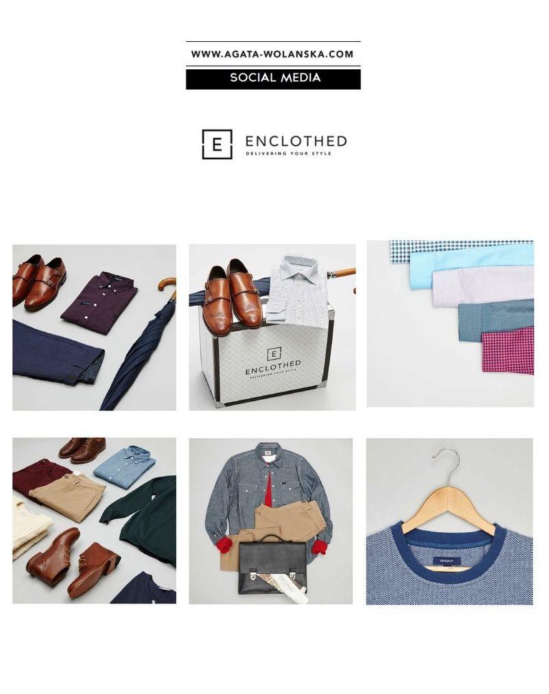 E-commerce Photographer - Brand Enclothed- 100% Digital  Production