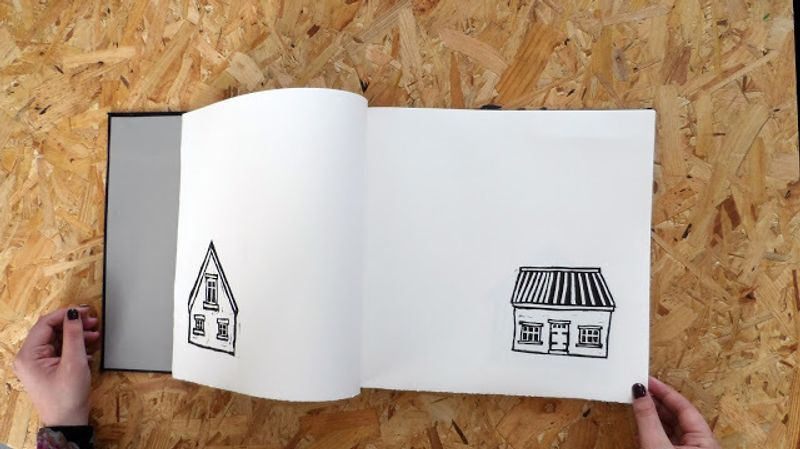 Iceland Lino Print Book