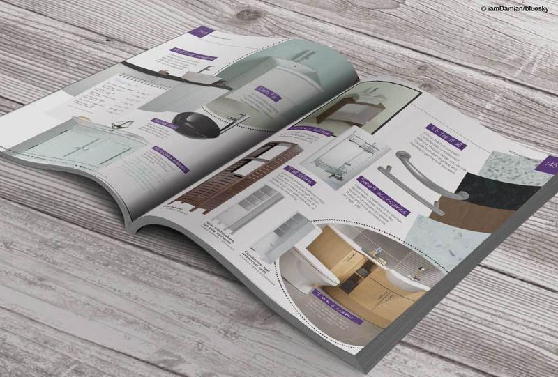 B&Q Bathrooms Brochures