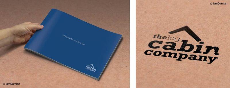 The Bespoke Log Cabin Co Identity & Brochure