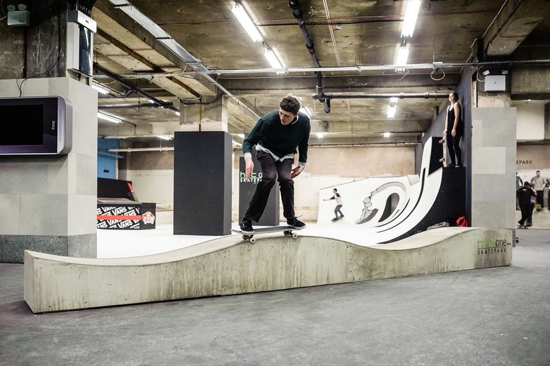 HTC Skatepark at Selfridges