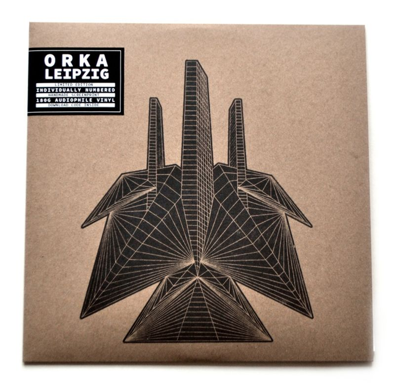 "ORKA ""Leipzig"" Album cover"