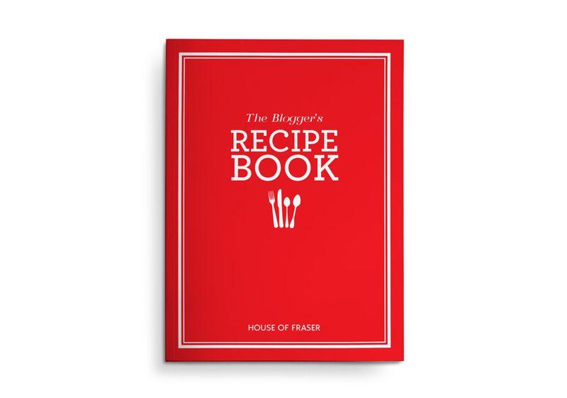 House Of Fraser Recipe Book