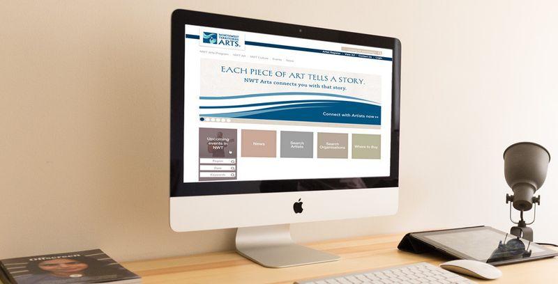 NWT Arts: Web Design | Print Design | Rebrand