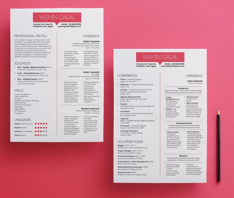 CV Redesign