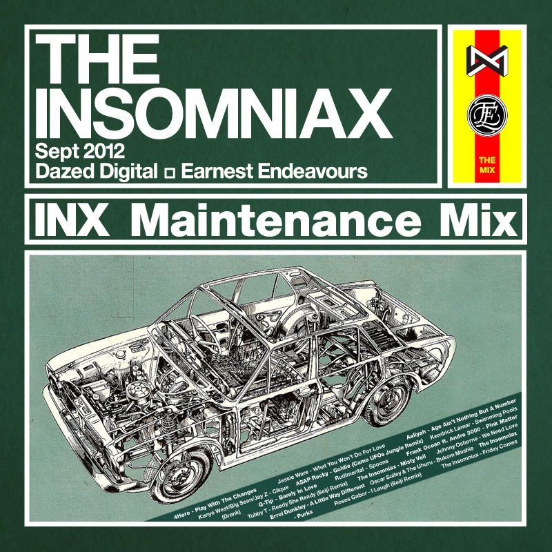Maintenance Mix for Dazed Digital