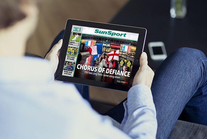 The Sun - Tablet Edition