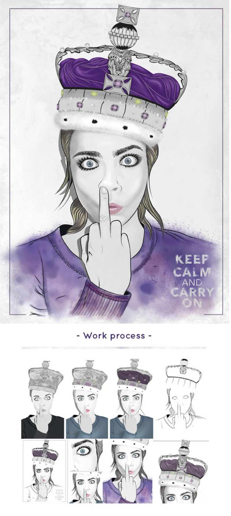 Keep in calm and carry on