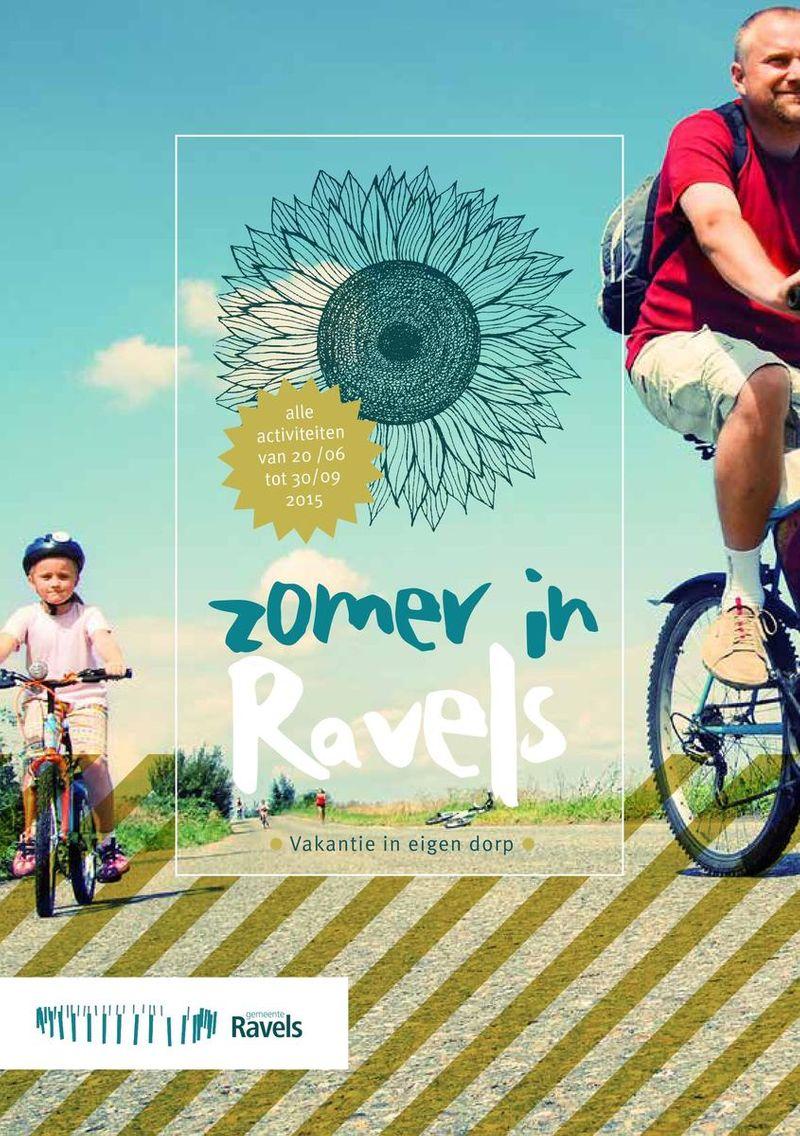 Summer activities brochure