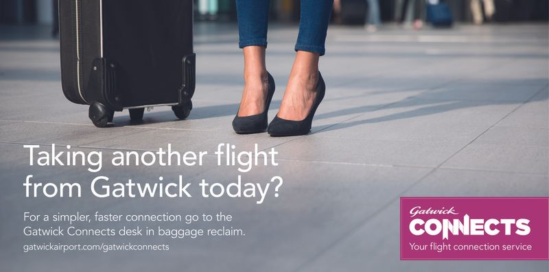 Gatwick Connects (Winter Campaign)