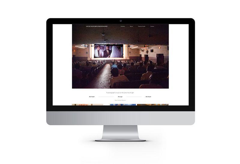 Giulio Mazzarini Online portfolio