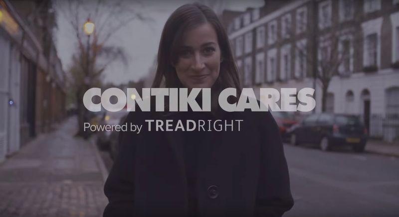 SUSTAINABILITY | CONTIKI CARES X TREADRIGHT