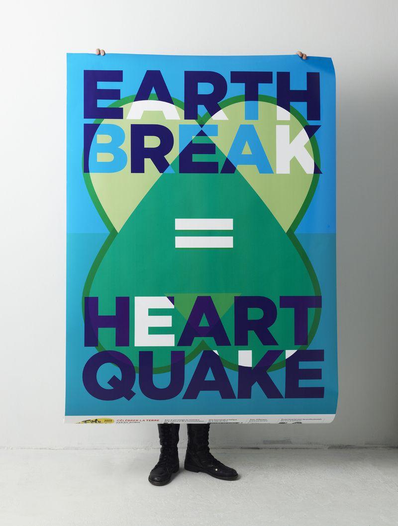EARTH BREAK = HEART QUAKE | SARAH BORIS, CONCEPT & DESIGN