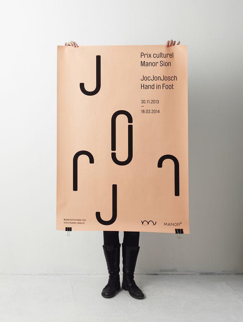 JOCJONJOSCH POSTER | SARAH BORIS DESIGN