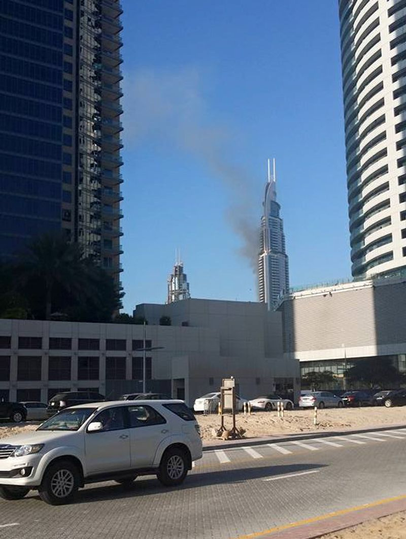 Fire at the Address hotel