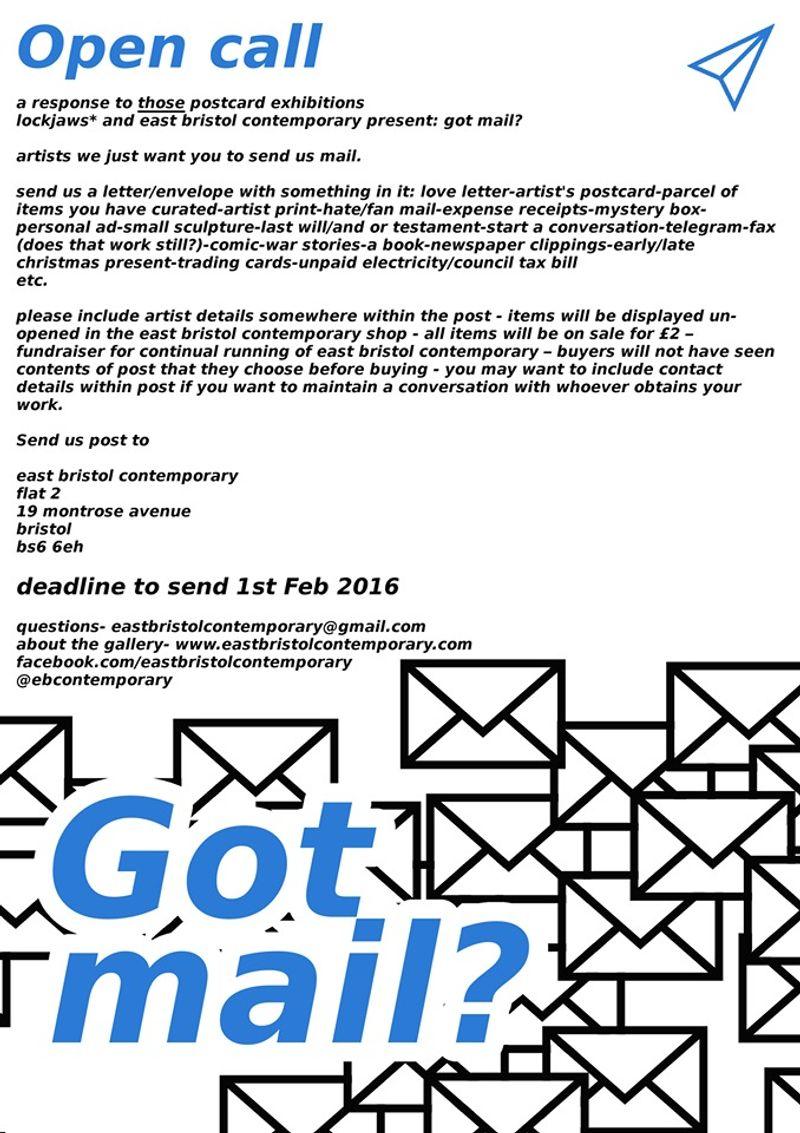 Got Mail? Exhibition