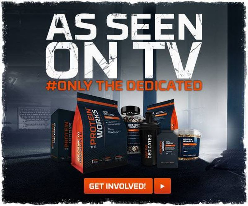 The Protein Works National TV Campaign