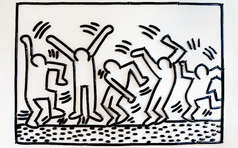Commissioning: Brooklyn Balloon Company - Keith Haring's  Five Dancing Guys, 1987