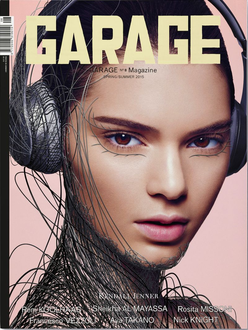 Visual Direction: GARAGE Nº8 Magazine - Kendall Jenner Cover