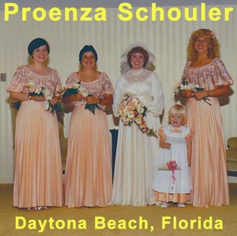 Social Media Content: Proenza Schouler's #FantasyAdFriday