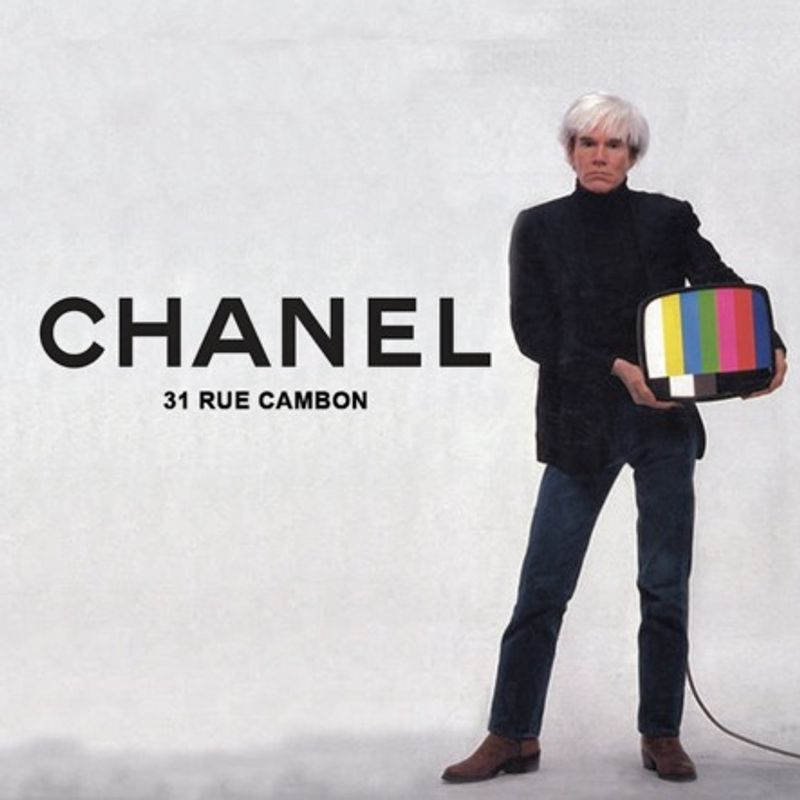 Social Media Content: Chanel x Contemporary Art (The 80's Remix) - Andy Warhol