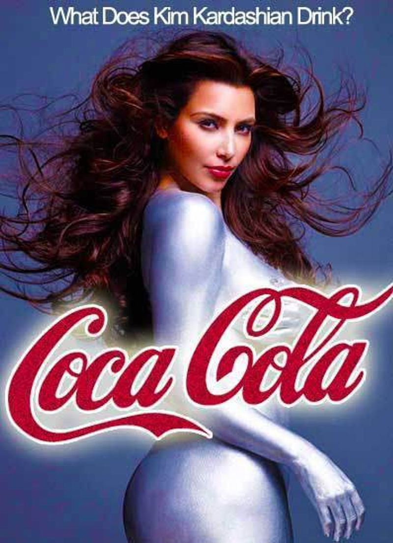 Brand Concept: Kim Kardashian for Coca-Cola