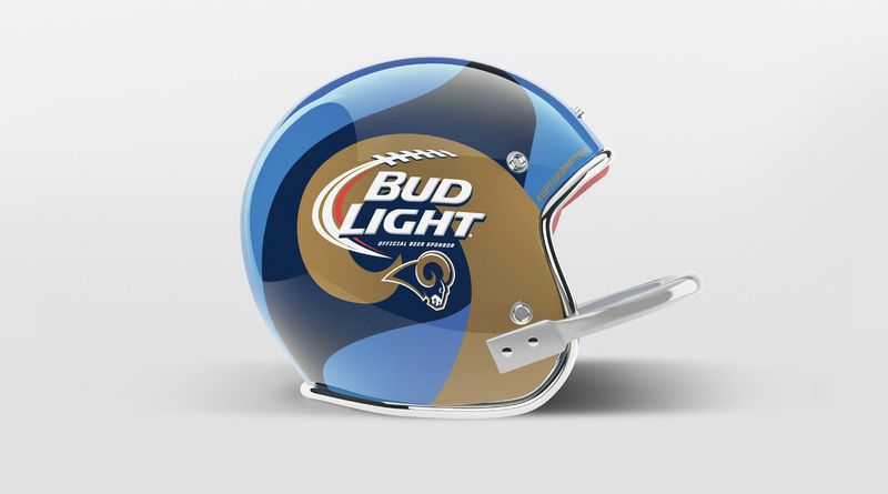 Bud Light Limited Edition NFL Team Cans