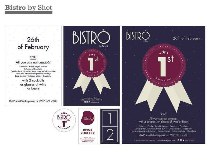 Bistro by Shot - First Year Birthday Event Party