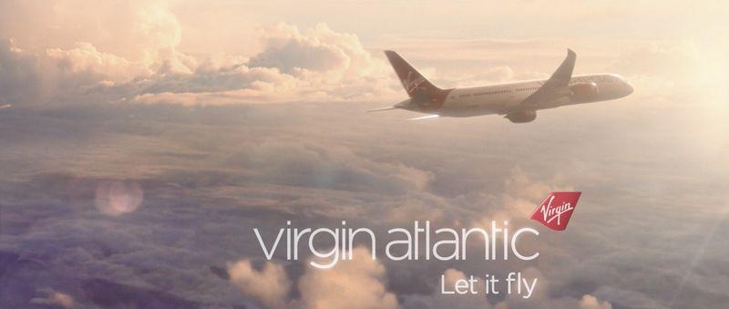 VIRGIN ATLANTIC   LET IT FLY