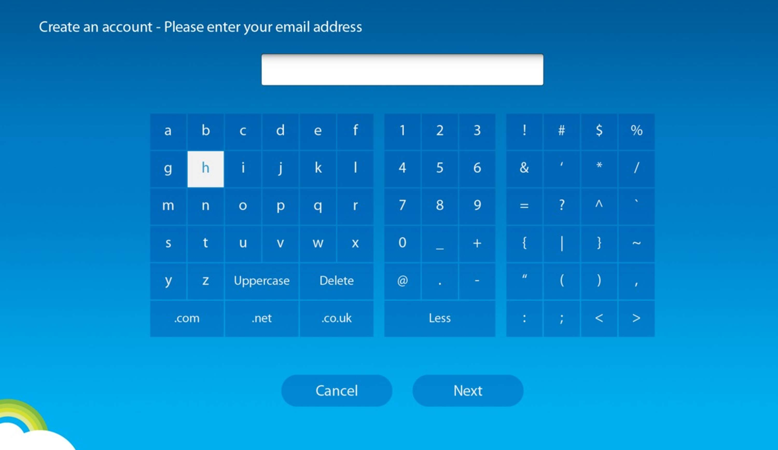 SKYPE ON TV KEYBOARD | The Dots