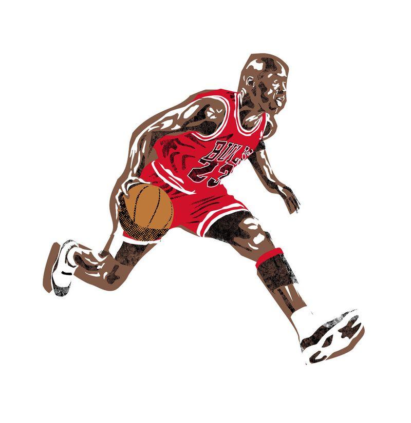 Commemorative NBA Illustrations