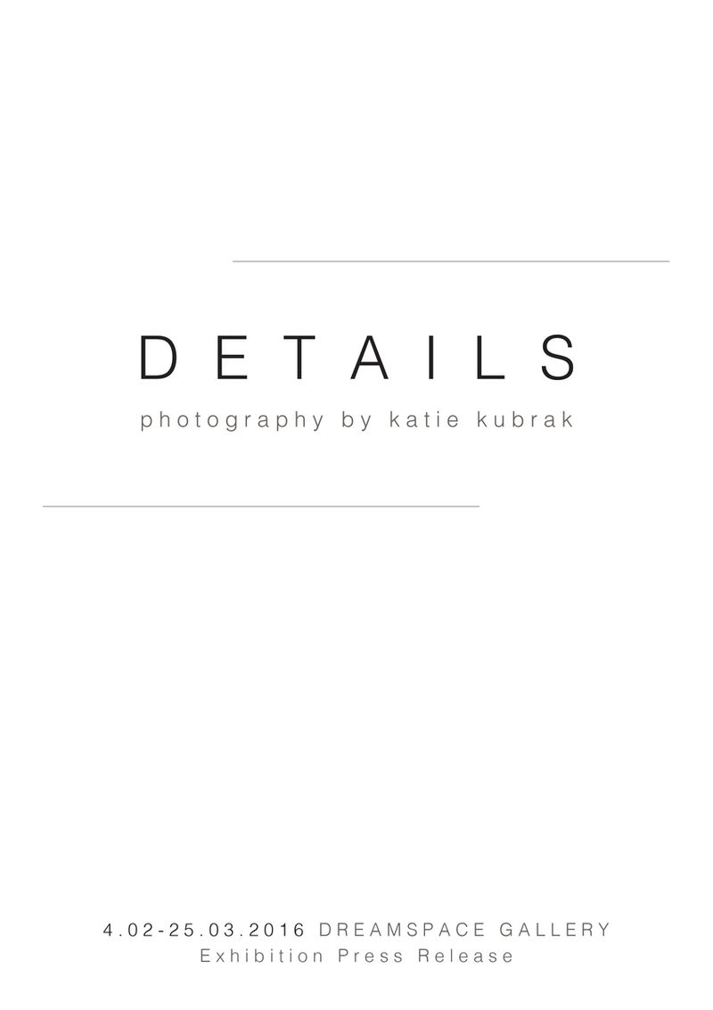 'Details' Photography Exhibition