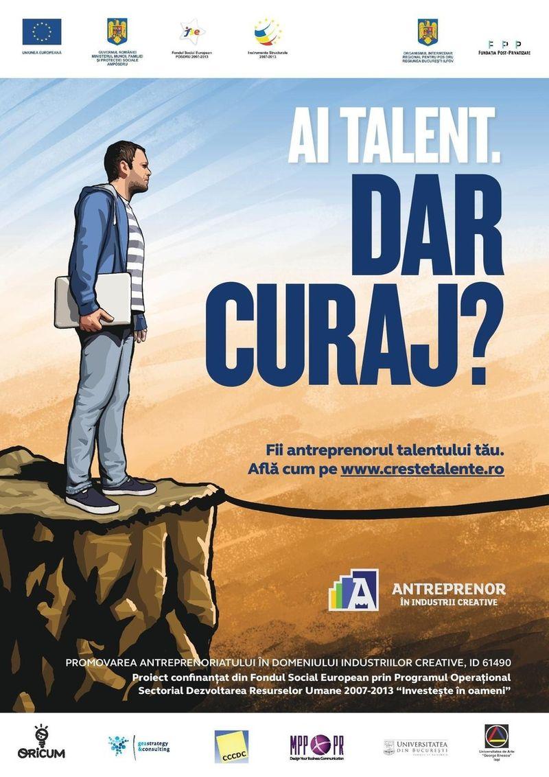 Promoting Entrepreneurship in Creative Industrie