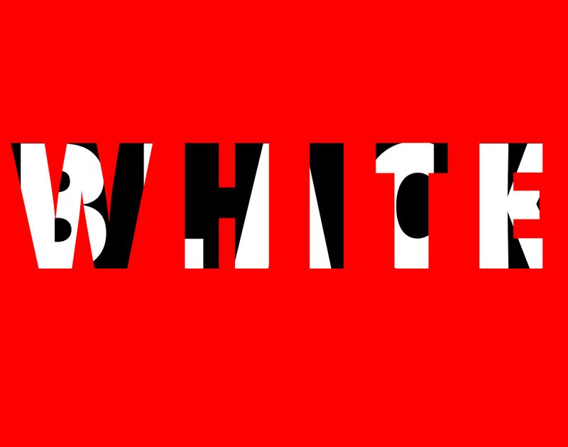 Black / White Ad