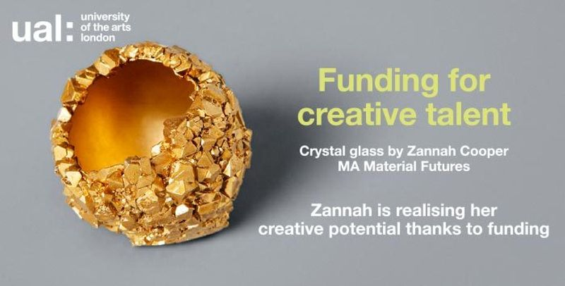 Funding for creative talent at UAL