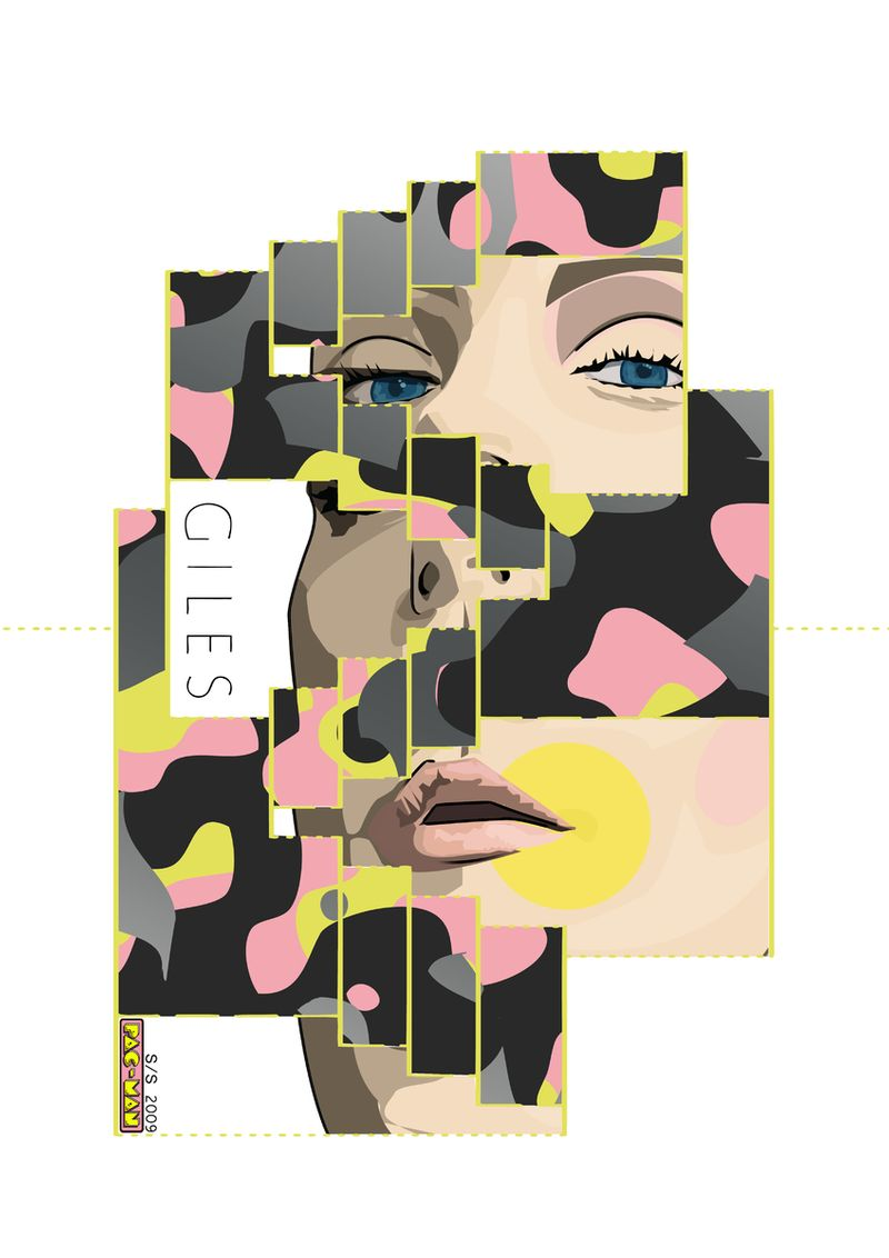 GILES DEACON POP-UP ADVERTORIAL