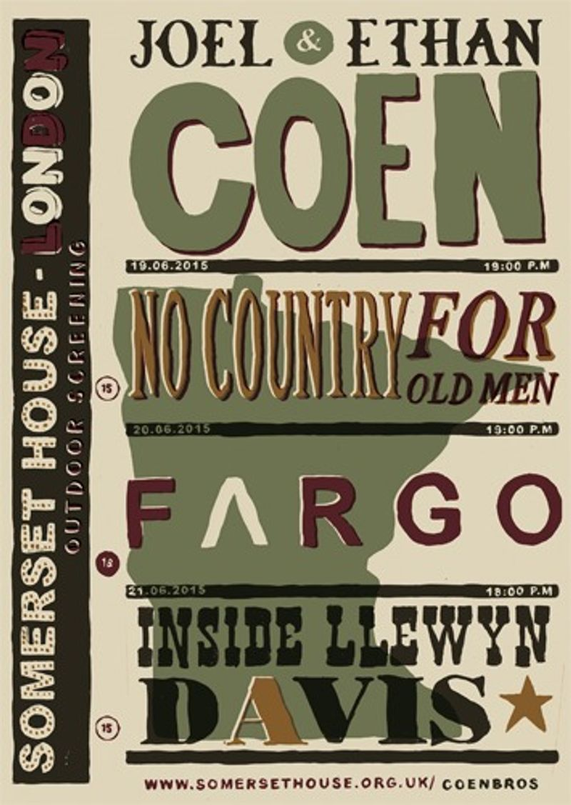 D&AD Monotype: Coen Brothers
