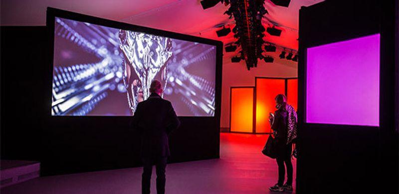 Film Installation for London Fashion Week 2015