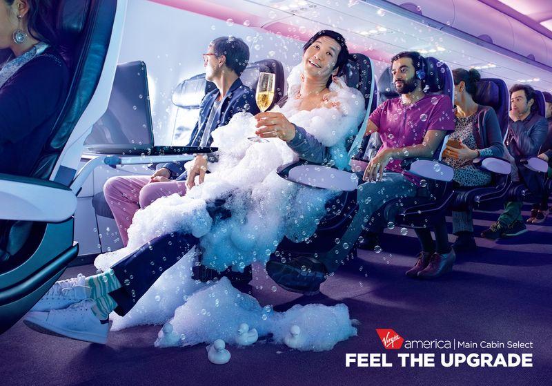 "Virgin America ""Feel The Upgrade"""