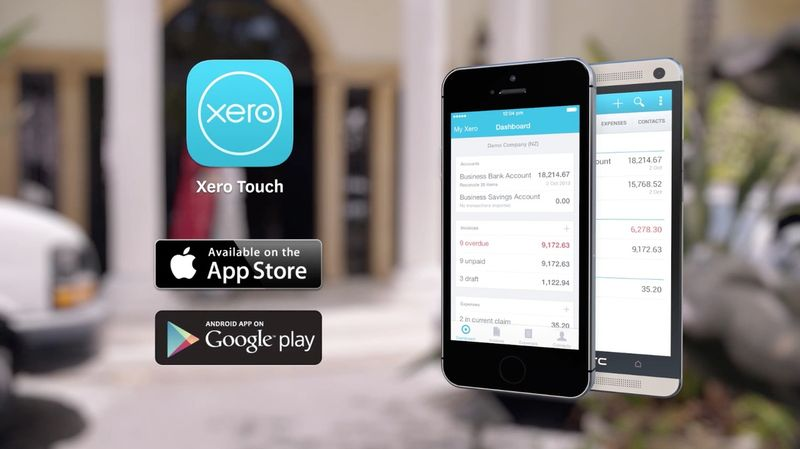 Xero Touch: The mobile app for accounting software | Xero