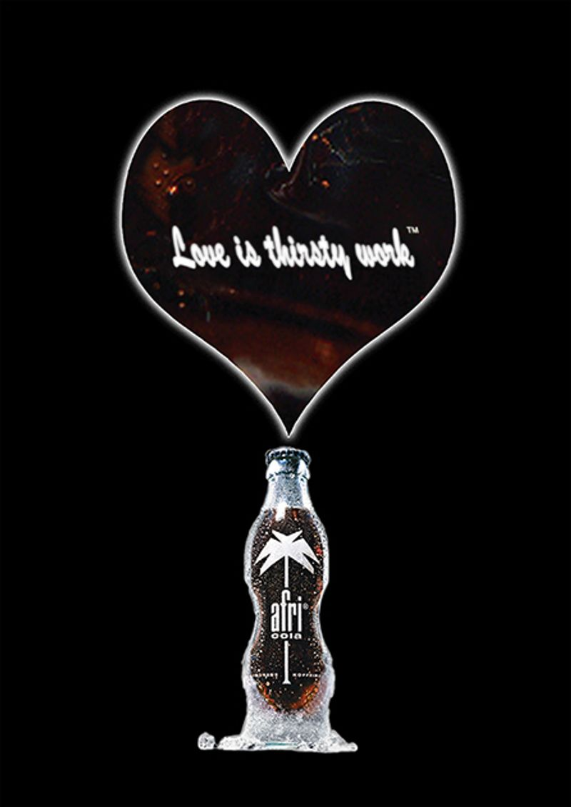 "Afri Cola ""Love is thirsty work"" campaign"