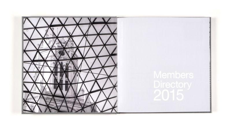 Book Design - Members Directory 2015